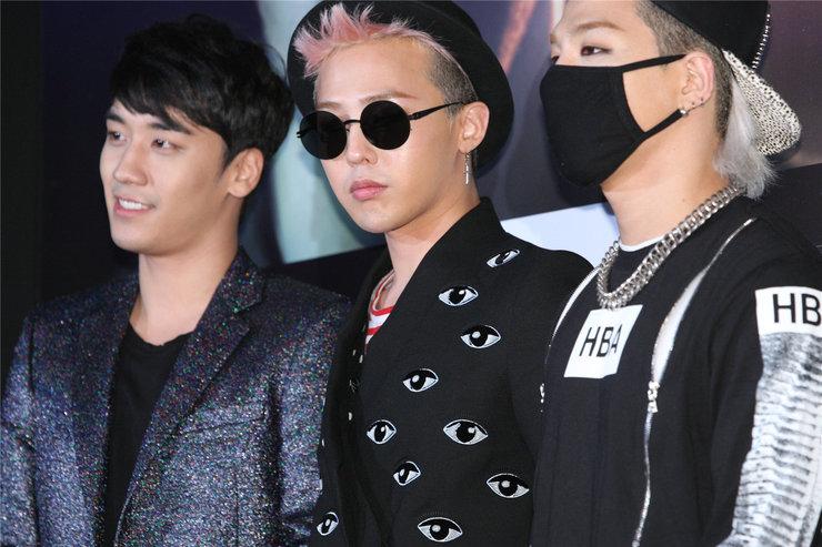 BIGBANG亮相发布会 酷冷有型令粉丝尖叫