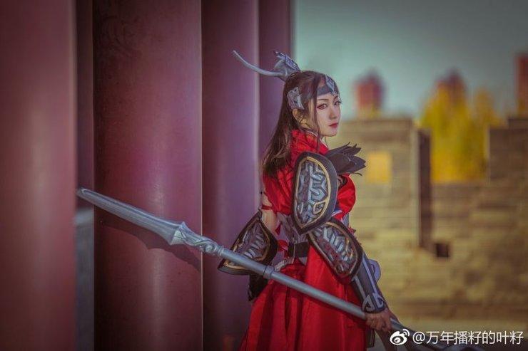 cosplay摄影 剑侠情缘网络版叁 天策军娘
