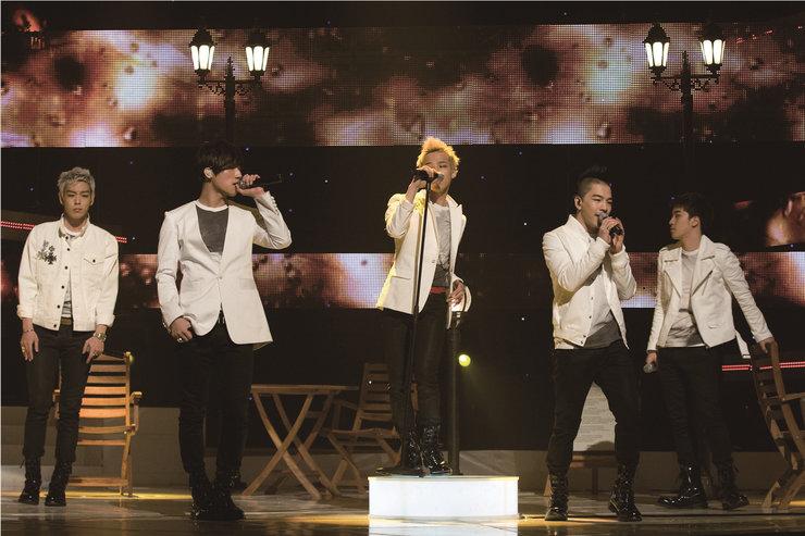 BIGBANG演唱会高清美图 迷人风范引迷妹尖叫