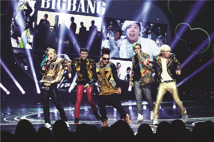 BIGBANG演唱会终极狂欢 视听双燃