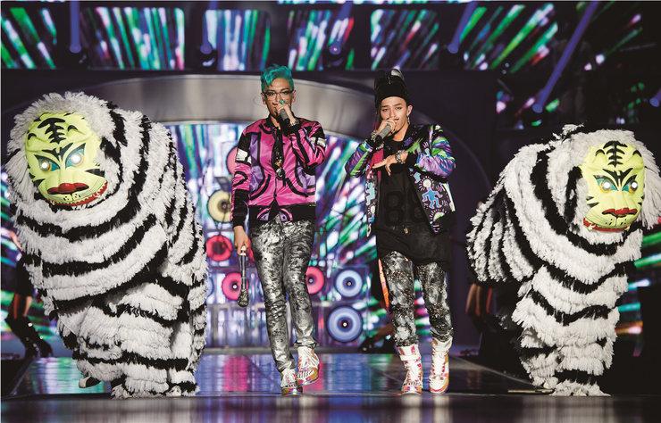 BIGBANG摇滚演唱会开唱 歌迷嗨不过瘾求再来一遍