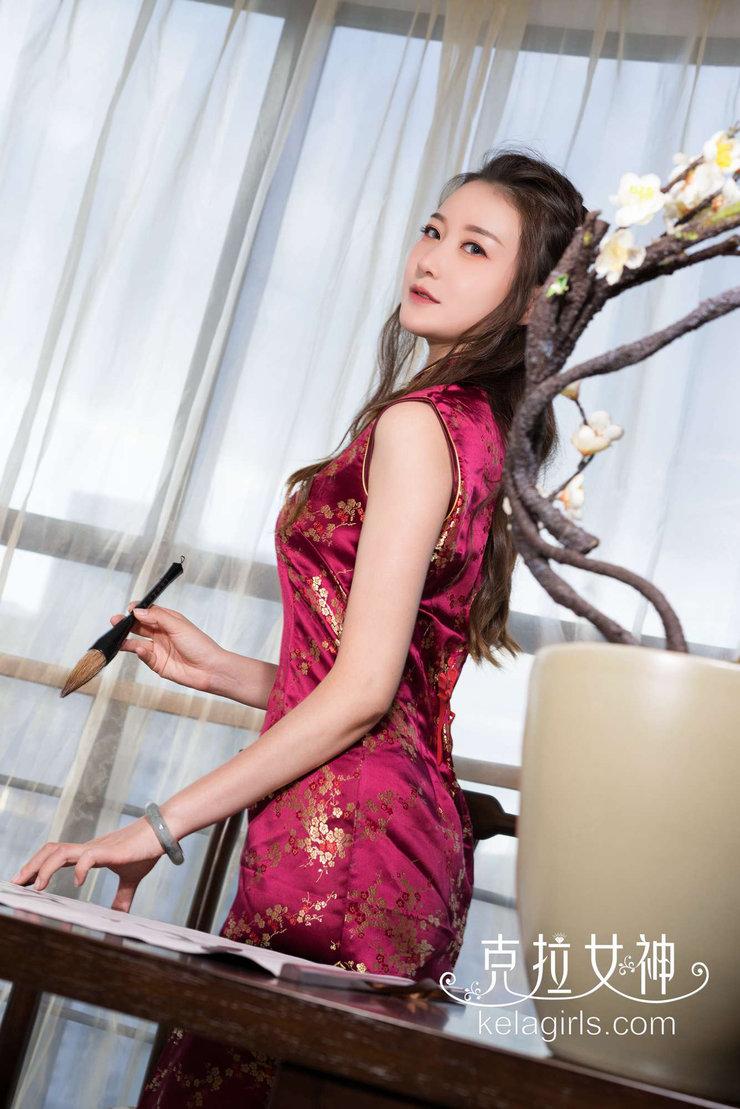 旗袍美女气质写真 演绎东方古典美